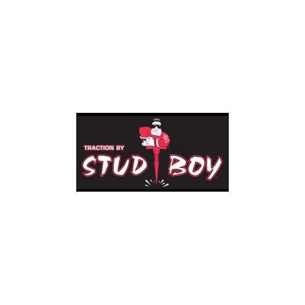 Stud Boy Banner 3' x 6' Black